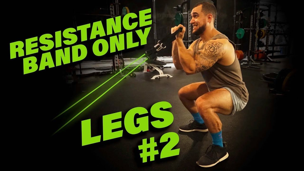 Intense 5 Minute Resistance Band Leg Workout 2 Youtube