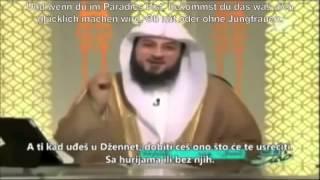 Darf ich Dua machen das ich mit meinem Mann im Paradies ohne Jungfrauen bin ? - Muhammad Al-Arifi