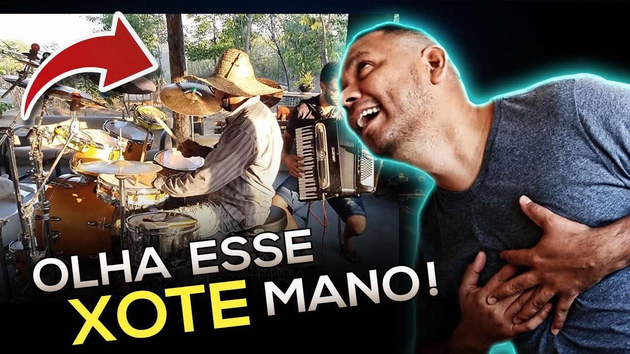 Carlinhos PAPA-LÉGUAS tocando XOTE!!! Sensacional