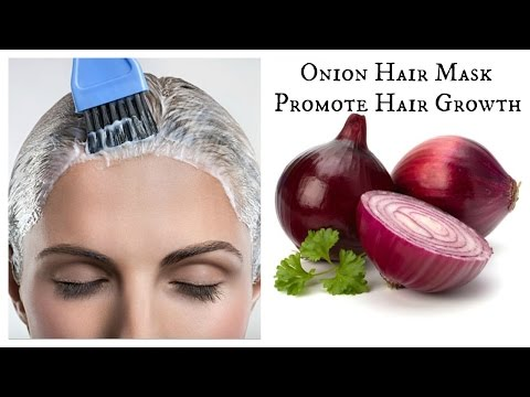 DIY Onion Hair Mask | Promote Hair growth