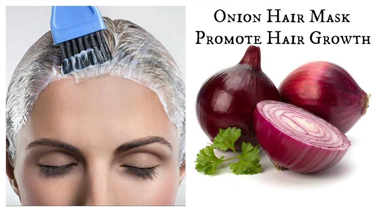 Diy Onion Hair Mask Promote Hair Growth Youtube