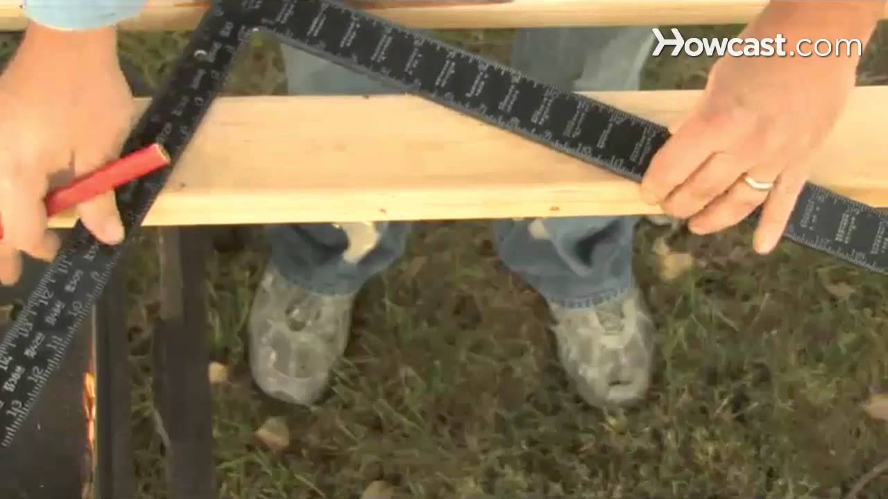 How to Use a Framing Square - YouTube