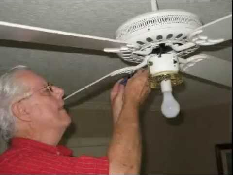 Ceiling Fan Light Repair Youtube