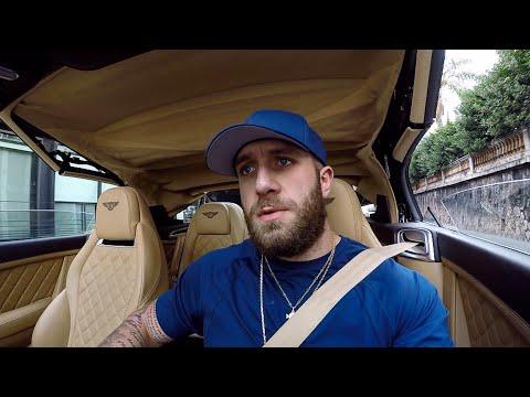Je sors la BENTLEY Continental GTC !! On roule en Cabriolet !!