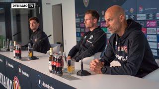 8. Spieltag | SGD - SVW | Pressekonferenz vor dem Spiel