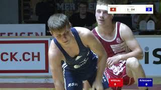 Ringen 6  Runde 19  10  12  Willisau Kriessern ganzer Match