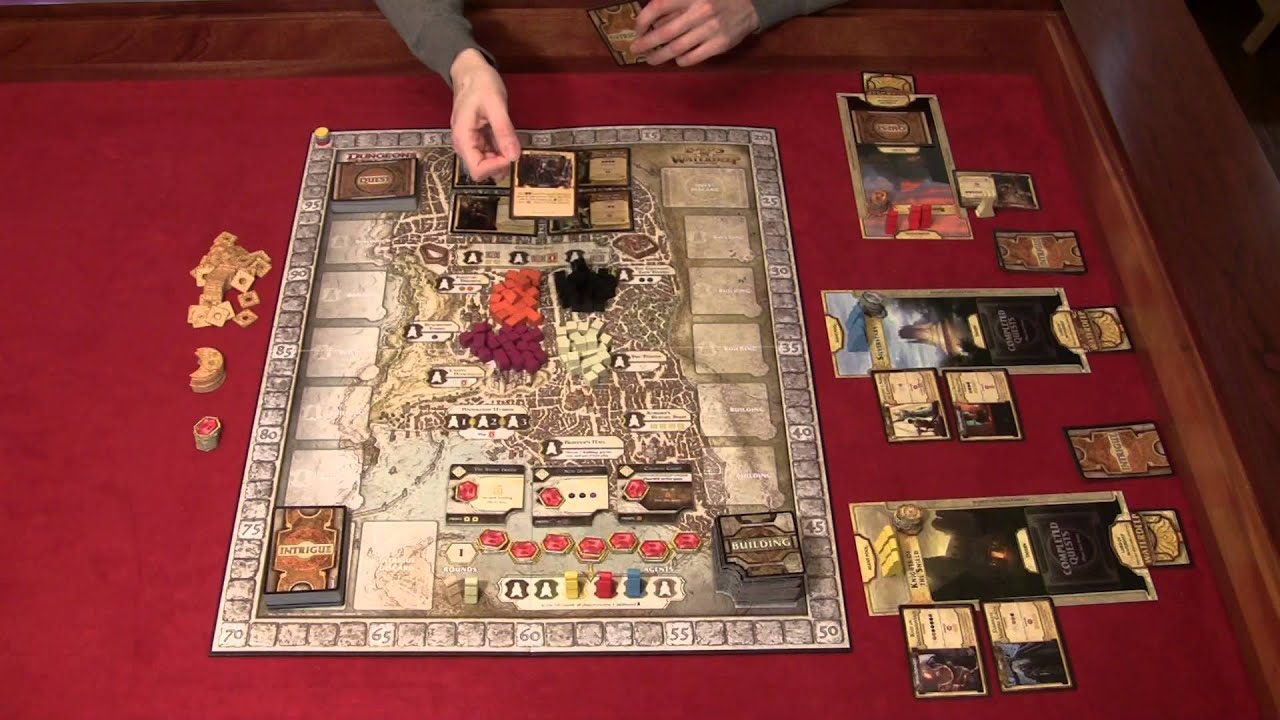 How to Play - Lords of Waterdeep - YouTube