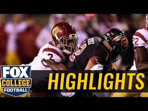 (24) Utah Utes knock off USC Trojans with TD on final drive - 2016 College Football Highlights