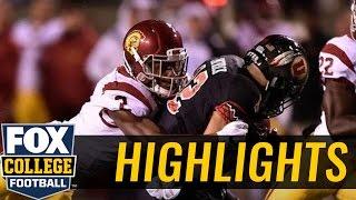 (24) Utah Utes knock off USC Trojans on final drive - 2016 College Football Highlights
