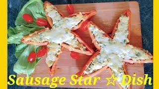 Sausage Star 🌟 Dish //Desi Food Club
