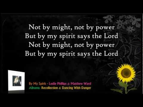 By My Spirit - Leslie Phillips