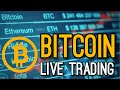 Live Trading Bitcoin on Sunday CoinBase Pro