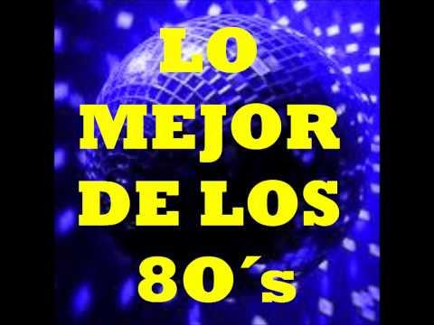 MIX  DE LOS 8O´s (2) - Musica Disco - Best Hits