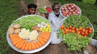 VEG!!! Vegetable Biriyani prepared by my Daddy Arumugam / Village food factory