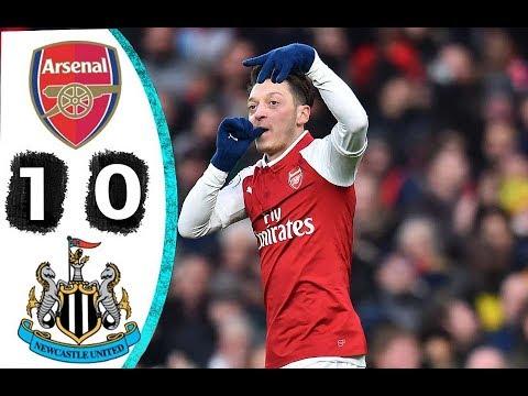 Arsenal Vs Newcastle 1 0 All Highlights & Goals 16 December 2017
