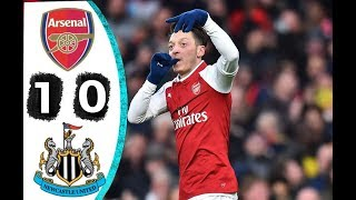 Download Video Arsenal Vs Newcastle 1 0 All Highlights & Goals 16 December 2017 MP3 3GP MP4