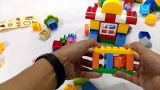 Mở hộp bộ đồ chơi lắp ghép siêu thị của bé ( tại Hà Nội )