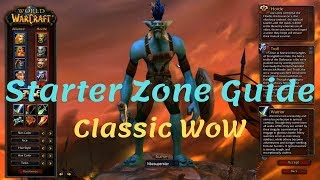 Orcs & Trolls Starter Zone Guide in WoW Classic (Patch 1.12.1)