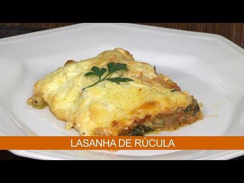 LASANHA DE RÚCULA