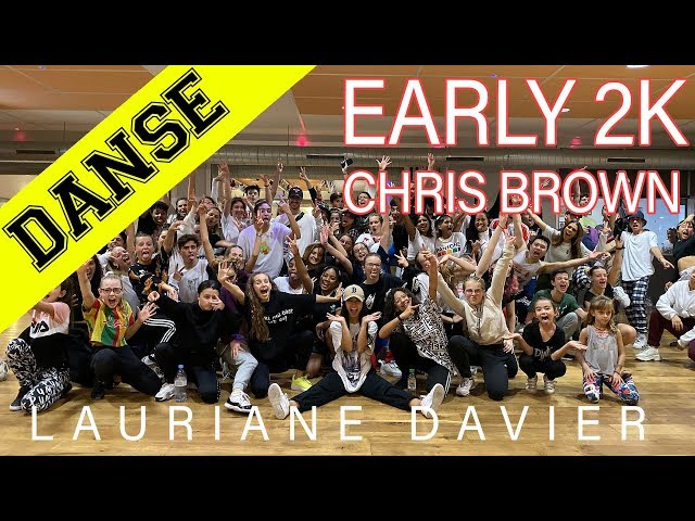DANCE WORSKSHOP | LAURIANE DAVIER | EARLY 2K - CHRIS BROWN | INPULSE | LYON | 2019 | JP CONCEPT