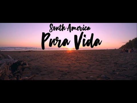 Gopro Hero 4 silver | HD South America Trip 2017 | Pura Vida |