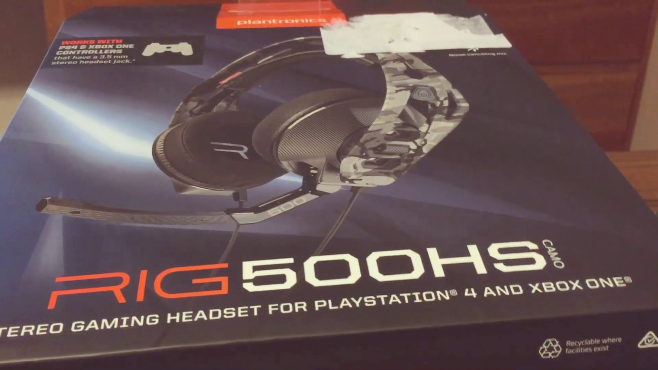 Rig 500 HS Xbox one/PS4 Headset Review