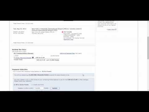 How to Redeem RBC Avion Rewards