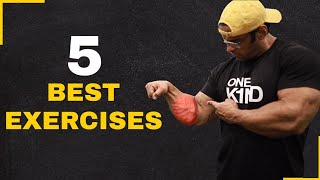 The Perfect Forearm Workout: 5 Best Exercises | Yatinder Singh