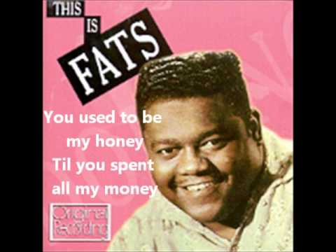 Fats Domino- I'm Walking To New Orleans(With Lyrics)