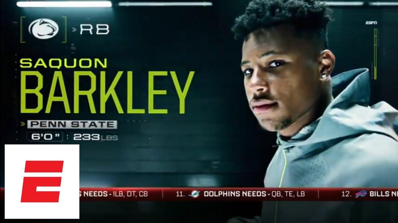 NFL Nation mock: Saquon Barkley, Sam Darnold, Baker Mayfield go top 3, but not in that order | ESPN