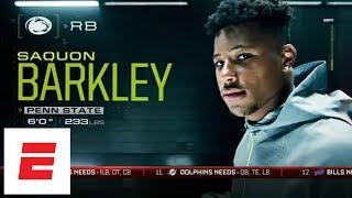 NFL Nation mock: Saquon Barkley, Sam Darnold, Baker Mayfield go top 3, but not in that order   ESPN