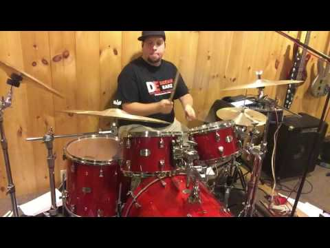 """Ian Koeller playing """"Four On The Floor Pop, From Survival Guide For The Modern Drummer by Jim Riley"""