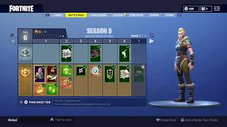 Fortnite Season 5 Battle Pass... IS TRASH