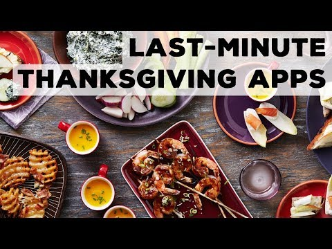 last-minute-thanksgiving-apps-food-network