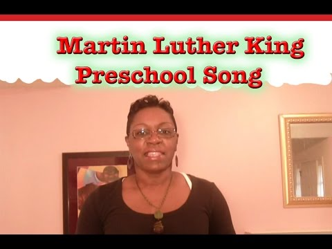 Preschool Songs Dr Martin Luther King Jr Song Littlestorybug