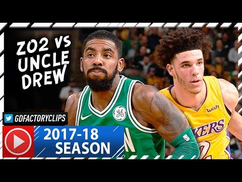 Thumbnail: Kyrie Irving vs Lonzo Ball INSANE PG Duel Highlights (2017.11.08) Celtics vs Lakers - MUST SEE!