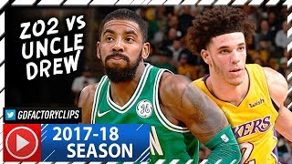 Kyrie Irving vs Lonzo Ball INSANE PG Duel Highlights (2017.11.08) Celtics vs Lakers - MUST SEE!
