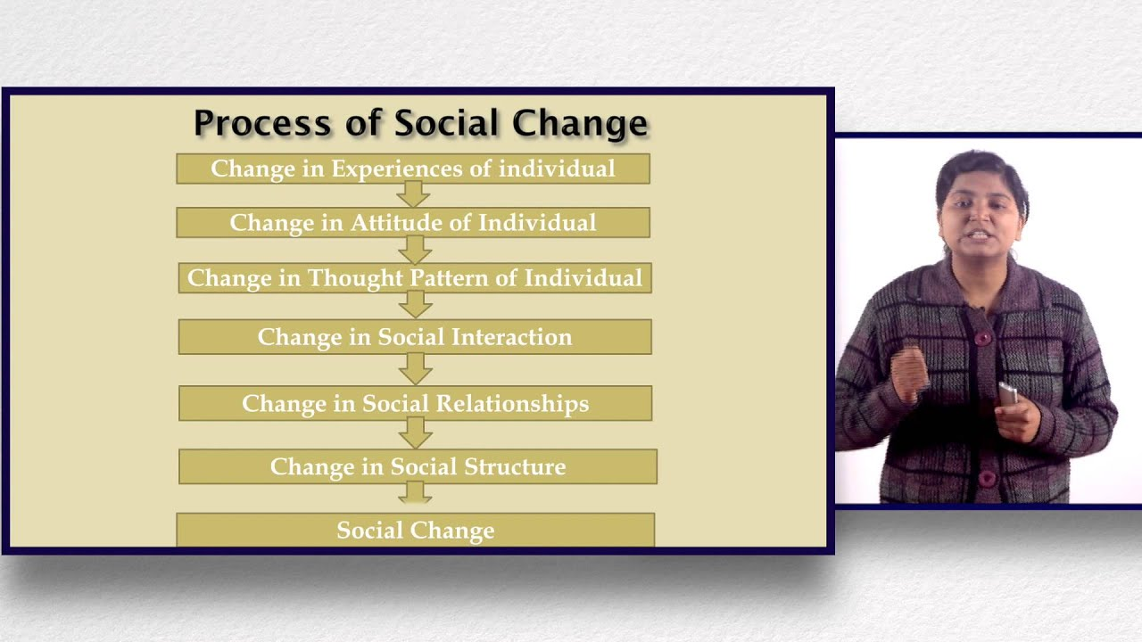 process of social change
