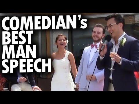 Comedian Gives Best Man Speech