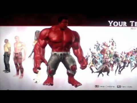 & Marvel Ultimate Alliance 2 : unlockable costumes - YouTube
