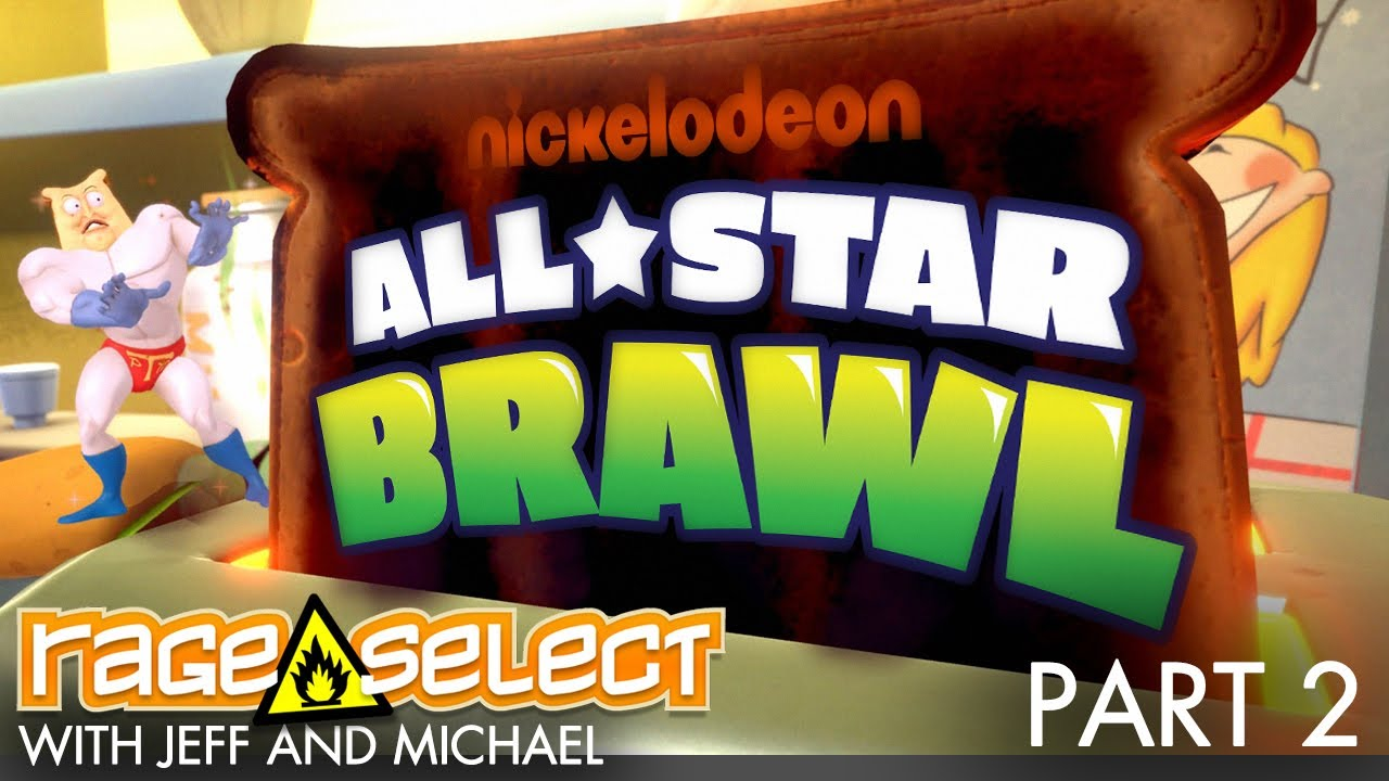 Nickelodeon All-Star Brawl (The Dojo) Let's Play - Part 2