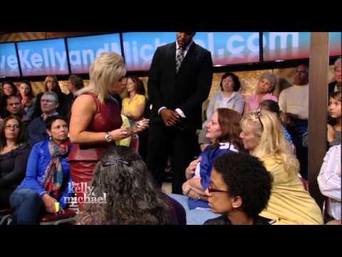 Long Island Medium Theresa Caputo on LIVE with Kelly and Michael