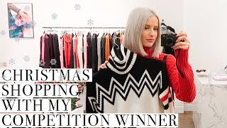 PERSONAL SHOPPING WITH ONE OF MY FOLLOWERS AND CHRISTMAS EVENTS IN LONDON