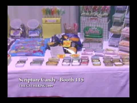 Scripture Candy Orlando Bible Bookstore Gathering show  2009