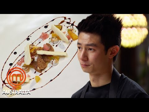 Reynold Poernomo's Balsamic & Citrus Auction Dish | MasterChef Australia | MasterChef World