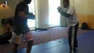 MMA legend Minotauro Nogueira sparring for UFC 110 part 2