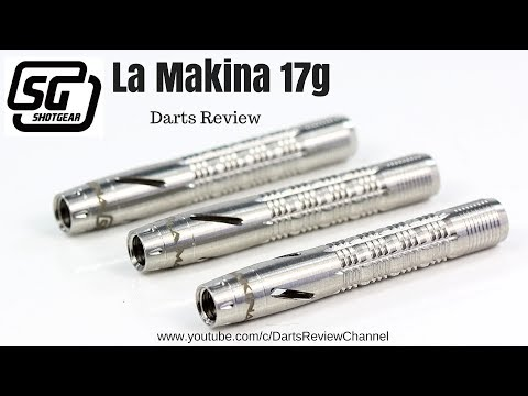 Shot Gear La Makina 17g darts reveiw
