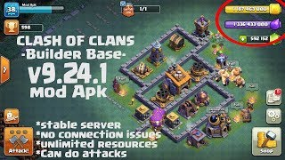 Clash of phoneix-clash of clans private server with builders base! (Android) with link...