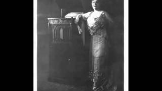 Belgian Coloratura Soprano Alice Verlet ~  Nymphes et Sylvains (1915-1919)