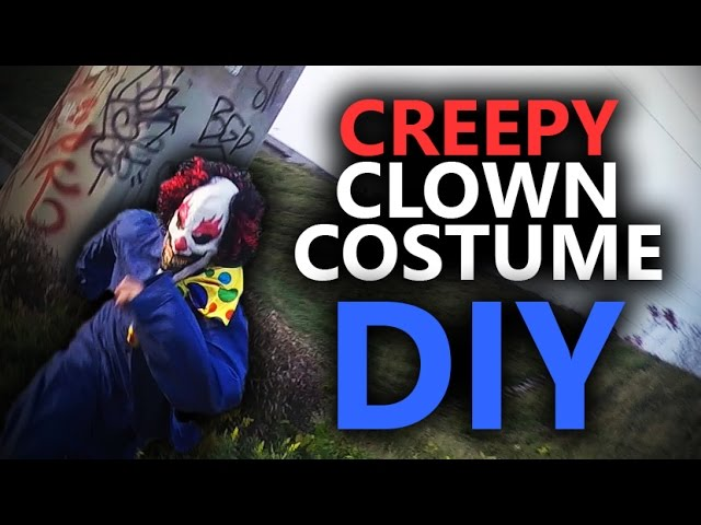 Clown Costume Diy Cheap And Easy Youtube